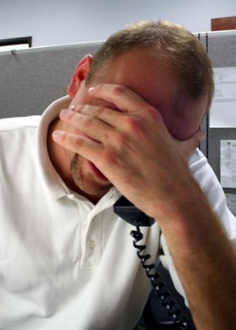 stres przed zmianą pracy